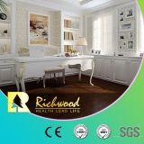plancher en stratifié en bois en bois stratifié de chêne blanc de perle de 12.3mm E1 HDF