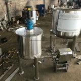 Mesures sanitaires de 500 litres en acier inoxydable cuve de mélange à haute vitesse