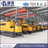 Hanfa Hfcr-8 Portable hydraulique de base de Forage géotechnique