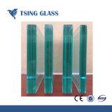 6.38-42.30mm de vidro laminado temperado com tamanhos personalizados