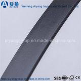 Bordure foncée de PVC des graines en bois/couleur solide/modèle magique de Shandong