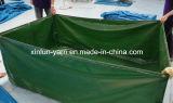Stof van het Canvas van pvc de Waterdichte voor de Dekking van de Tent/van het Tabernakel/van de Vrachtwagen