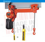 Double Speed ​​5ton Electric Chain Hoist Single Rail com Gancho