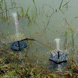 Feuille de Lotus Piscine de la pompe à énergie solaire Fontaine à eau