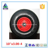 10 pollici Cina Pneumatic Tires Rubber Wheel per Wheelbarrow