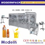 4 dans 1 production de machines de remplissage de boisson de jus de fruits