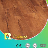 Nickel HDF Parquet Plancher en bois stratifié stratifié en étain Maple Hickory V-Grooved