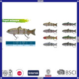 Diferentes Formas e Cores Hard Minnow Fishing Lures
