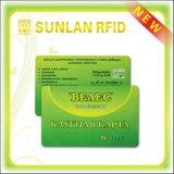 2016 heiße verkaufenkundenspezifische Karten-kompatible Karten-Visitenkarte ISO 14443A Soem-Rewriteable RFID mit magnetischer Strip/RFID Karte mit Chip T5577 (freie Proben)