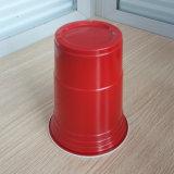 16oz Kop van de Partij van het Huis van de Rang van het Voedsel van 450ml pp de Plastic Rode solo
