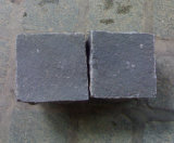 Cubi neri e grigi dei cubi del basalto neri più poco costosi, del basalto nella cava della Cina
