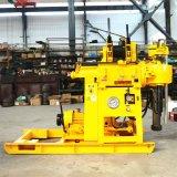 Type capacité Drilling de petite taille portative d'axe du matériel 200m de puits d'eau de plate-forme de forage de faisceau