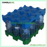 5개 갤런 병을%s 표준 포크리프트 수송 물 깔판