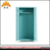 2 chambre à coucher Mobilier métallique porte armoire en acier