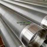 El agua de acero inoxidable tubo del filtro de cable de pantalla de tubo de tamiz Johnson