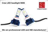 2016 3600 люмен индейцев Кри Лампа фары F6 9005 9006 H4, H7, H9, H11 СВЕТОДИОДНЫЕ ФАРЫ Замена галогенных ламп модель 9004 СВЕТОДИОДНЫЕ ФАРЫ