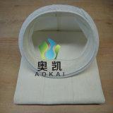 Sacchetti filtro di Aramid dell'impianto di miscelazione dell'asfalto di Ammann di 216*2500
