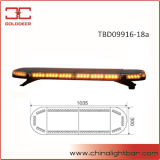 1035mm 72W super dünne LED bernsteinfarbiges Lightbar (TBD09916-18A)