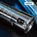 Sumergible de 4 pulgadas de la bomba de agua solar con acero inoxidable 316