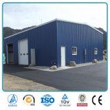 Estrutura de aço leve prefabricados armazém com Guindaste