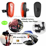 Bike/Motociclo/Veículo Rastreador GPS impermeável com 1800mAh Bateria Li-ion Tk-906