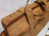Новый реальный деревянный мешок плеча повелительниц кожи пробочки (dB08)