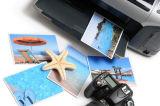 Papier auto-adhésif lustré de photo pour l'impression de jet d'encre dans une Rolls