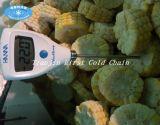 Verflüssigtes Einfrieren für Obst- und GemüseIQF Gefriermaschine-Meerestier-Mais
