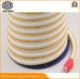 PTFE Verpackung ohne Öl; Reine Flansch-Verpackung des Nahrungsmittelgrad-PTFE; Reine Dampf-Ventil Glang Verpackung ohne Öl für Dampf-Ventil-Pumpe
