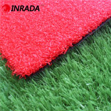 La mejor hierba artificial del sintético de Golf&Field 28stitches del color rojo del césped