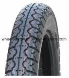 3.00-18 Haltbarer schwarzer Gummimotorrad Reifen mit neuem Muster