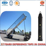 standard 3/5stage Parker Face End Hydraulic Cylinder for Dump Truck