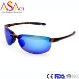 紫外線保護(91065)の高品質の人のスポーツミラーTr90のサングラス