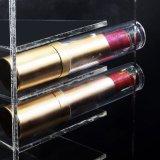 Lápiz labial del estante del organizador del maquillaje y sostenedor de acrílico superiores de la gama de colores