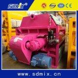 Ktsa3000 l'arbre de la construction de machines de ciment Twin Bétonnière