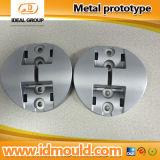 Protótipo rápido de alumínio na cor anodizada