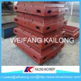 Linha de molde caixa da carcaça da areia da alta segurança de molde usada para a fundição