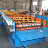 Rolo material de aço do Decking que dá forma à máquina da construção da máquina do edifício da máquina