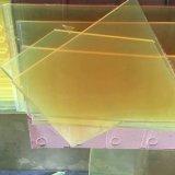 Feuille de polyuréthane, feuille d'unité centrale, feuilles de polyuréthane, feuilles d'unité centrale avec la couleur jaune-clair