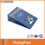 Kundenspezifischer Firmenzeichen-Farbband-Knoten-Papier-Geschenk-Beutel/Einkaufstasche/Paket-Beutel