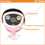 4MP 3MP 2MP 1MP Waterproof Camera Mini Size Security Câmera CCTV Ahd com CE, RoHS, Certificados FCC