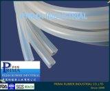 Tube en caoutchouc de silicone, haute transparente, inodore, tube de silicone vulcanisé Platinum 4*7mm