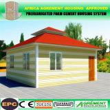 Bewegliche Flachgehäuse-Ferien-Haus-vorfabriziertkabine mit Stahlunterseite