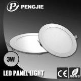 Nuevo diseño delgado 3W luz del panel LED con el certificado del CE (PJ4020)