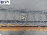 Galvanisierter und Belüftung-überzogener flacher Verpackungs-Rasiermesser-Draht