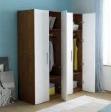 De goedkope Gelamineerde Kast van de Garderobe met Deuren