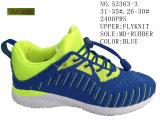 Trois couleurs Fly tricot de deux enfants chaussures chaussures taille
