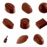 [زك16] مجوّف شوكولاطة غزال مع [س] تصديق