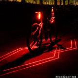 Luz trasera láser bicicleta Bicicleta recargable USB Luz Trasera (BS-05)
