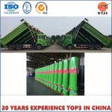 Cilindro hidráulico telescópico de vários estágios de caminhão de descarga de OEM/ODM